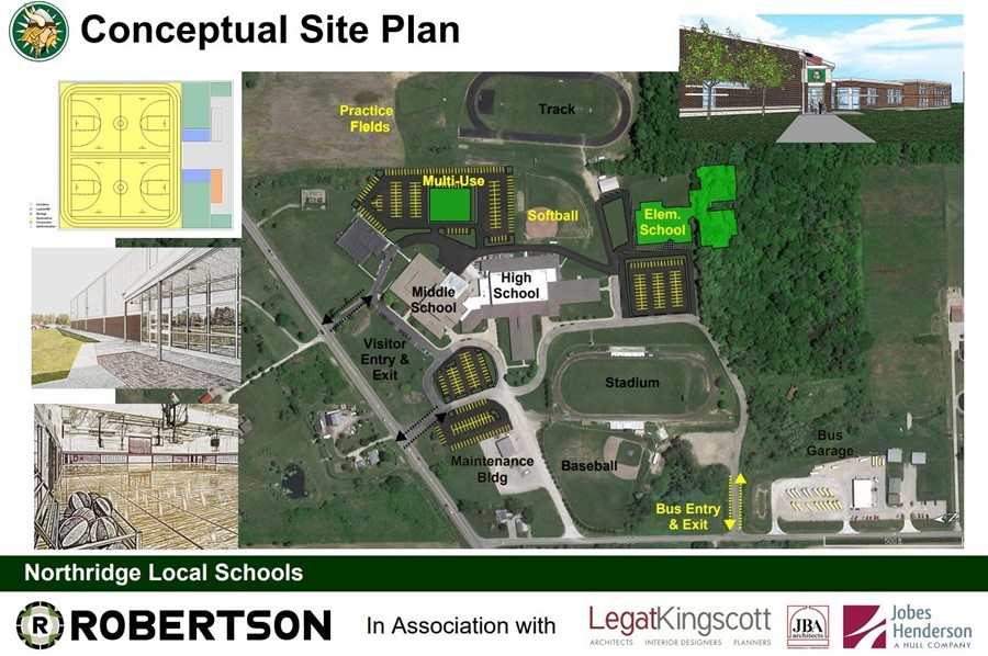 Elementary building plans conceptual northridge local for Local builders house plans