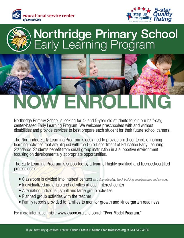 Enroll Northridge Preschool